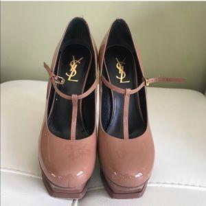 Ysl nude heels